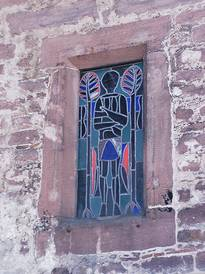 A window in its previous condition