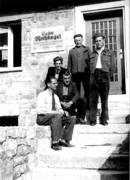 Some of the employees with Johannes Rothkegel (in front), approx. 1952