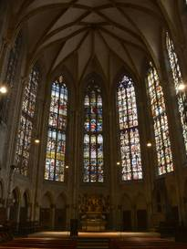Minster of Ulm, choir (conservation)